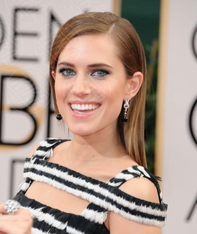 Allison Williams - Beverly Hills - 13-01-2014 - Golden Globe 2014: gli arrivi sul red carpet