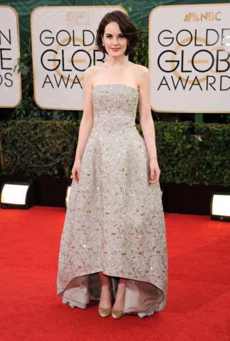 Michelle Dockery - Beverly Hills - 13-01-2014 - Golden Globe 2014: gli arrivi sul red carpet