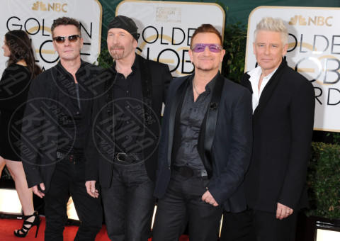 U2 - Beverly Hills - 13-01-2014 - Golden Globe 2014: gli arrivi sul red carpet