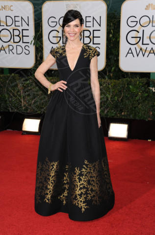 Julianna Margulies - Beverly Hills - 13-01-2014 - Golden Globe 2014: gli arrivi sul red carpet