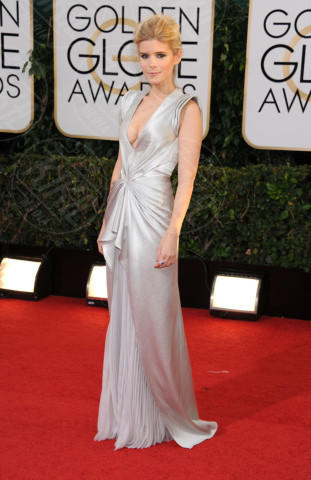 Kate Mara - Beverly Hills - 13-01-2014 - Golden Globe 2014: gli arrivi sul red carpet