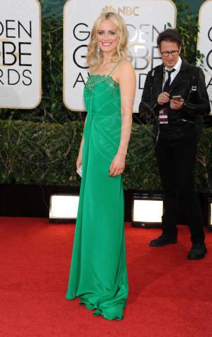 Taylor Schilling - Beverly Hills - 13-01-2014 - Golden Globe 2014: gli arrivi sul red carpet