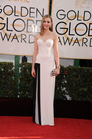 Laura Carmichael - Beverly Hills - 13-01-2014 - Golden Globe 2014: gli arrivi sul red carpet