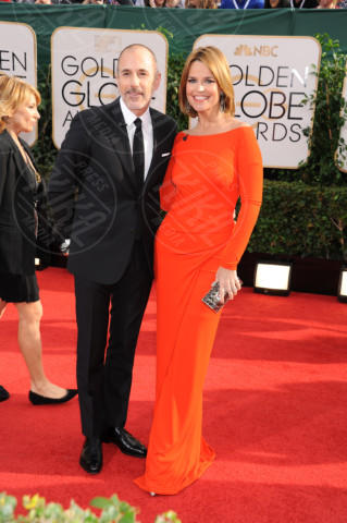 Savannah Guthrie, Matt Lauer - Beverly Hills - 13-01-2014 - Golden Globe 2014: gli arrivi sul red carpet