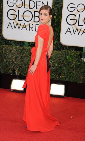 Emma Watson - Beverly Hills - 13-01-2014 - Golden Globe 2014: gli arrivi sul red carpet