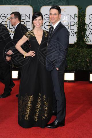 Keith Lieberthal, Julianna Margulies - Beverly Hills - 13-01-2014 - Golden Globe 2014: gli arrivi sul red carpet