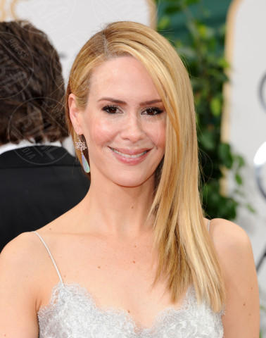 Sarah Paulson - Beverly Hills - 13-01-2014 - Golden Globe 2014: gli arrivi sul red carpet