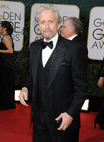 Michael Douglas - Beverly Hills - 13-01-2014 - Golden Globe 2014: gli arrivi sul red carpet