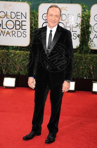 Kevin Spacey - Beverly Hills - 13-01-2014 - Golden Globe 2014: gli arrivi sul red carpet