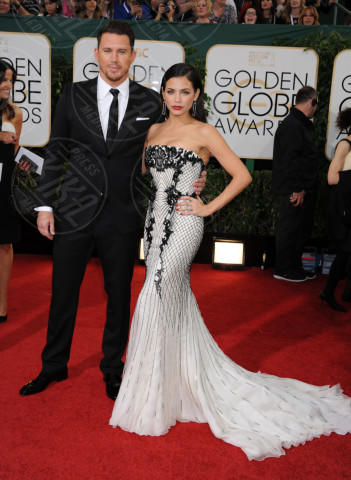 Jenna Dewan, Channing Tatum - Beverly Hills - 13-01-2014 - Golden Globe 2014: gli arrivi sul red carpet