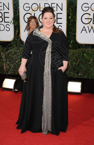 Melissa McCarthy - Beverly Hills - 13-01-2014 - Golden Globe 2014: gli arrivi sul red carpet