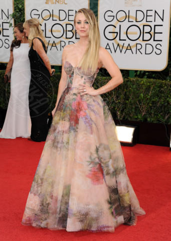Kaley Cuoco - Beverly Hills - 13-01-2014 - Golden Globe 2014: gli arrivi sul red carpet