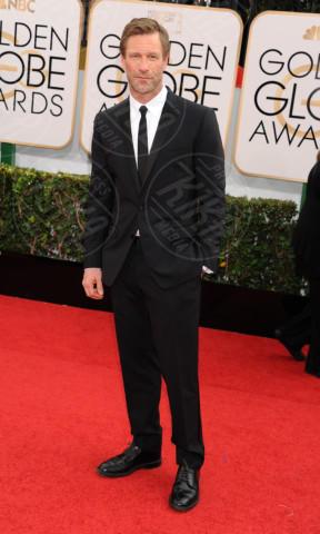 Aaron Eckhart - Beverly Hills - 13-01-2014 - Golden Globe 2014: gli arrivi sul red carpet