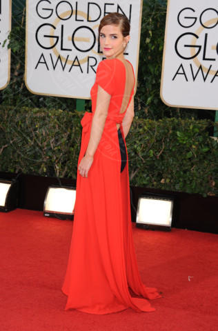 Emma Watson - Beverly Hills - 13-01-2014 - Golden Globe 2014: gli arrivi sul red carpet