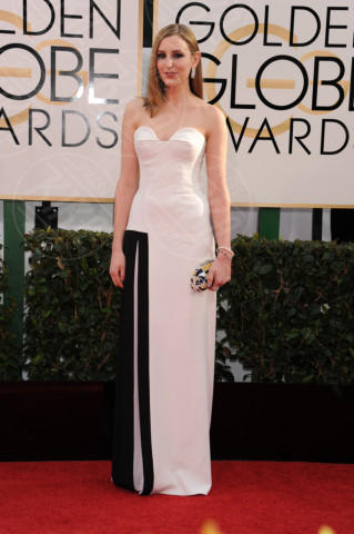 Laura Carmichael - Beverly Hills - 13-01-2014 - Golden Globe 2014, il red carpet si veste retrò