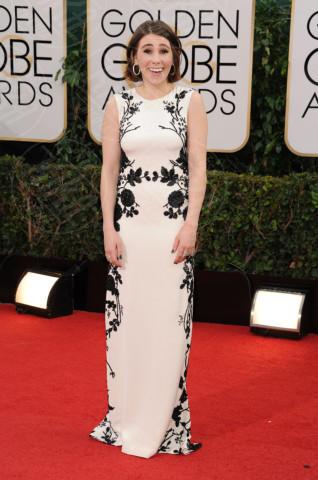Lena Dunham - Beverly Hills - 13-01-2014 - Golden Globe 2014: gli arrivi sul red carpet