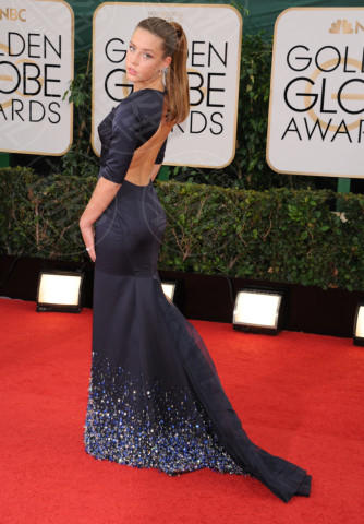 2014 -, Adèle Exarchopoulos - Beverly Hills - 13-01-2014 - Golden Globe 2014: gli arrivi sul red carpet