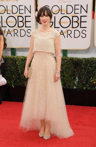 Zooey Deschanel - Beverly Hills - 13-01-2014 - Golden Globe 2014: gli arrivi sul red carpet