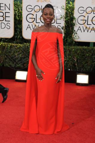 Lupita Nyong'o - Beverly Hills - 13-01-2014 - Golden Globe 2014: gli arrivi sul red carpet