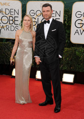 Liev Schreiber, Naomi Watts - Beverly Hills - 13-01-2014 - Golden Globe 2014: gli arrivi sul red carpet