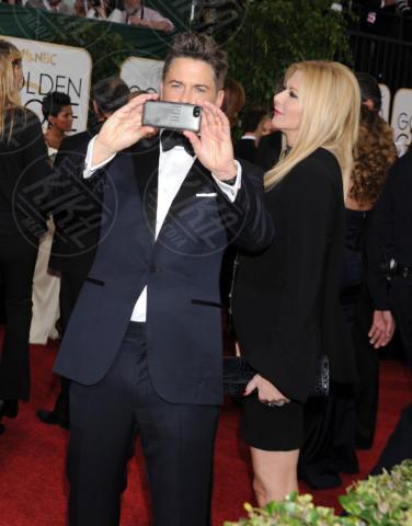 Sheryl Berkoff, Rob Lowe - Beverly Hills - 13-01-2014 - Golden Globe 2014: gli arrivi sul red carpet