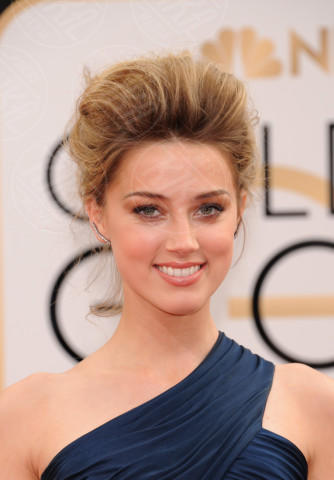 Amber Heard - Beverly Hills - 13-01-2014 - Golden Globe 2014: gli arrivi sul red carpet