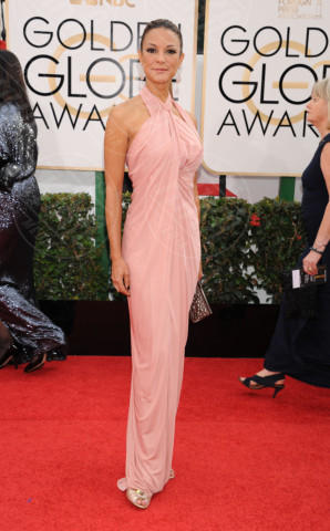 Eva  LaRue - Beverly Hills - 13-01-2014 - Golden Globe 2014: gli arrivi sul red carpet