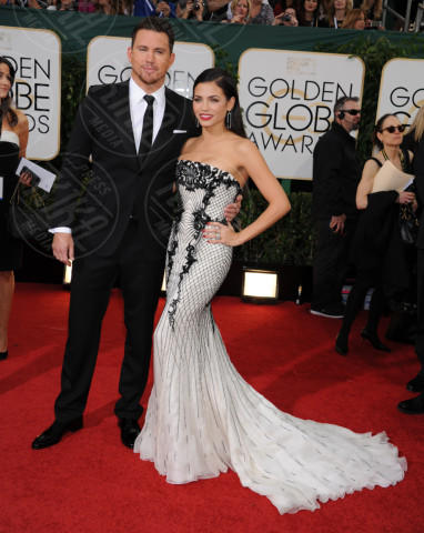 Jenna Dewan, Channing Tatum - Beverly Hills - 13-01-2014 - Golden Globe 2014: gli arrivi sul red carpet
