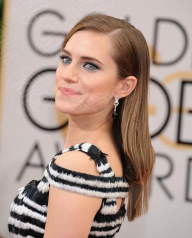 Allison Williams - Beverly Hills - 13-01-2014 - Golden Globe 2014: gli arrivi sul red carpet