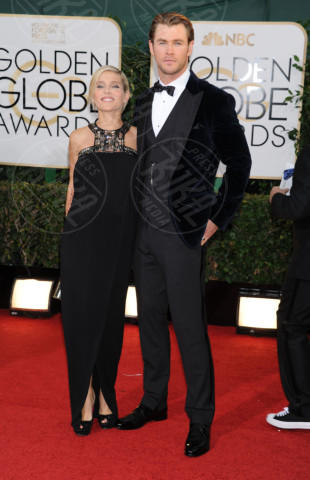 Chris Hemsworth, Elsa Pataky - Beverly Hills - 13-01-2014 - Golden Globe 2014: gli arrivi sul red carpet