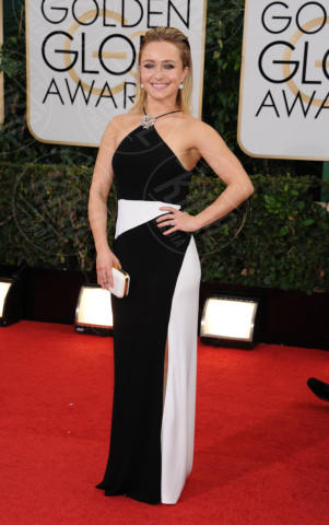 Hayden Panettiere - Beverly Hills - 13-01-2014 - Golden Globe 2014, il red carpet si veste retrò