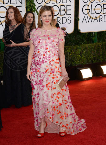 Drew Barrymore - Beverly Hills - 12-01-2014 - Golden Globe 2014: gli arrivi sul red carpet