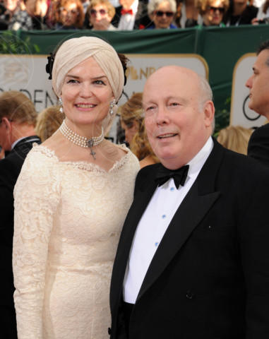 Julian Fellowes - Beverly Hills - 11-01-2014 - Golden Globe 2014: gli arrivi sul red carpet