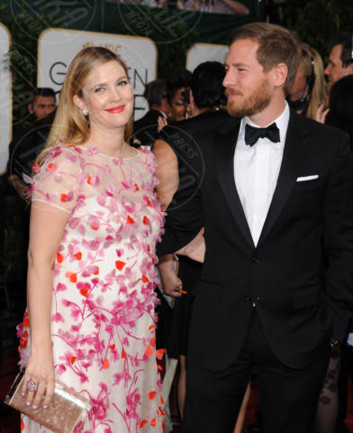 Will Kopelman, Drew Barrymore - Beverly Hills - 11-01-2014 - Golden Globe 2014: gli arrivi sul red carpet