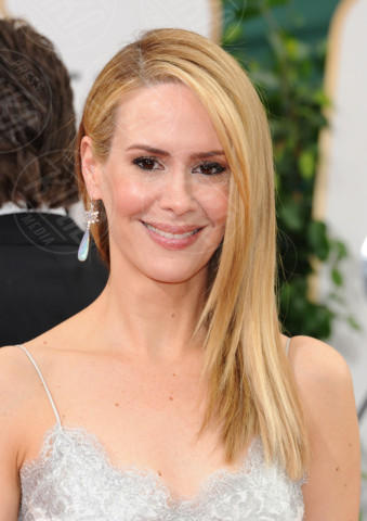 Sarah Paulson - Beverly Hills - 11-01-2014 - Golden Globe 2014: gli arrivi sul red carpet