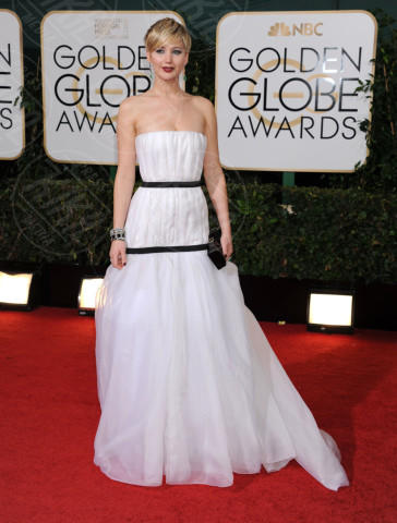 Jennifer Lawrence - Beverly Hills - 11-01-2014 - Golden Globe 2014: gli arrivi sul red carpet