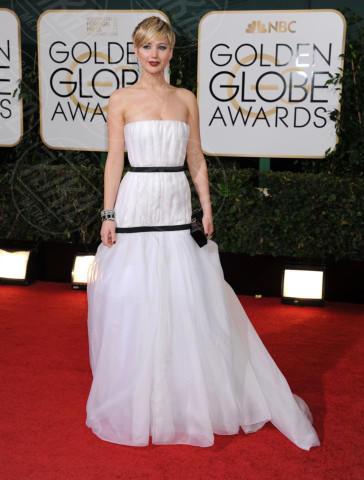 Jennifer Lawrence - Beverly Hills - 11-01-2014 - Golden Globe 2014: gli arrivi sul red carpet