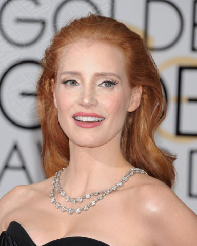 Jessica Chastain - Beverly Hills - 11-01-2014 - Golden Globe 2014: gli arrivi sul red carpet
