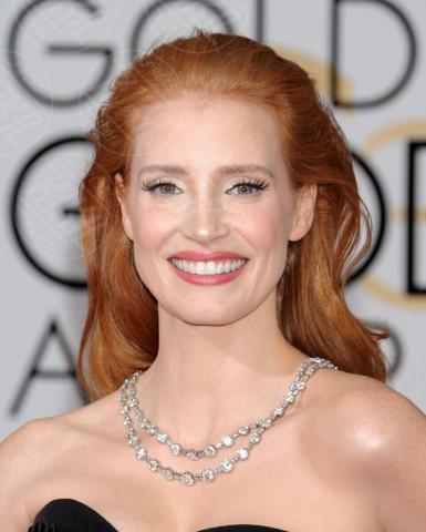 Jessica Chastain - Beverly Hills - 11-01-2014 - Golden Globe 2014: gli arrivi sul red carpet