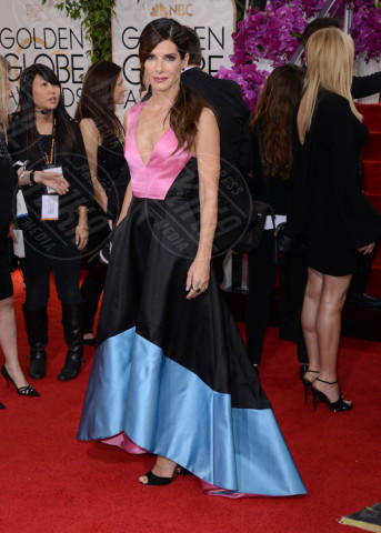 Sandra Bullock - Beverly Hills - 12-01-2014 - Golden Globe 2014: gli arrivi sul red carpet