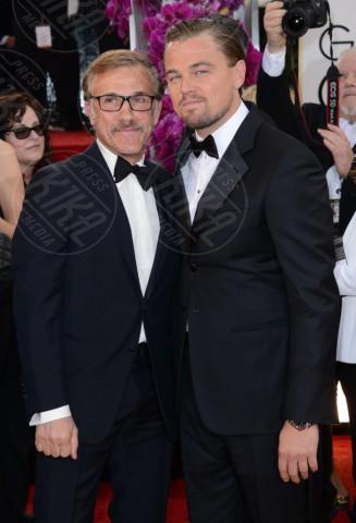 Christoph Waltz, Leonardo DiCaprio - Beverly Hills - 12-01-2014 - Golden Globe 2014: gli arrivi sul red carpet