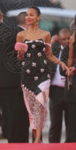 Zoe Saldana - Los Angeles - 12-01-2014 - Golden Globe 2014: gli arrivi sul red carpet