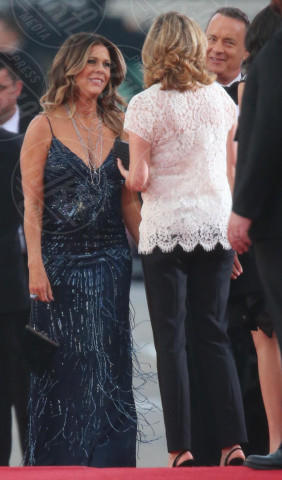 Rita Wilson - Los Angeles - 12-01-2014 - Golden Globe 2014: gli arrivi sul red carpet