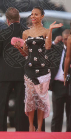 Zoe Saldana - Los Angeles - 12-01-2014 - Golden Globe 2014: gli arrivi sul red carpet