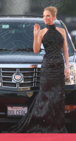 Uma Thurman - Los Angeles - 12-01-2014 - Golden Globe 2014: gli arrivi sul red carpet