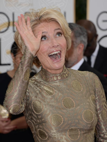 Emma Thompson - Beverly Hills - 12-01-2014 - Golden Globe 2014: gli arrivi sul red carpet