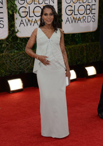 Kerry Washington - Beverly Hills - 12-01-2014 - Golden Globe 2014, il red carpet si veste retrò