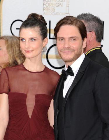 Daniel Bruhl - Beverly Hills - 11-01-2014 - Golden Globe 2014: gli arrivi sul red carpet