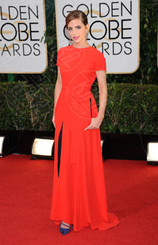 Emma Watson - Beverly Hills - 11-01-2014 - Golden Globe 2014: gli arrivi sul red carpet