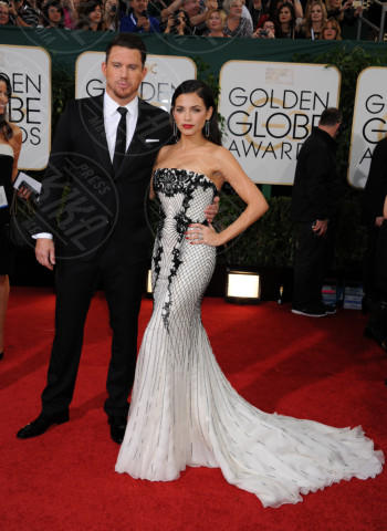 Jenna Dewan, Channing Tatum - Beverly Hills - 11-01-2014 - Golden Globe 2014: gli arrivi sul red carpet